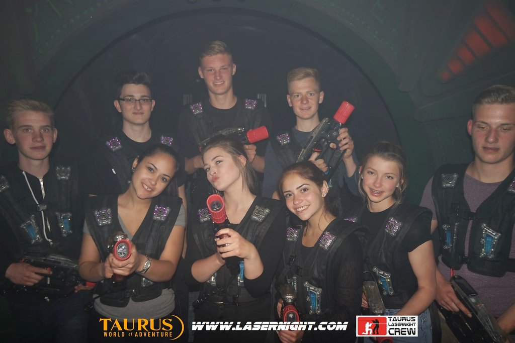 Lasernight Pfingstsonntag 15.05.2016